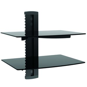 Homevision Technology TygerClaw Double Layer DVD Shelf