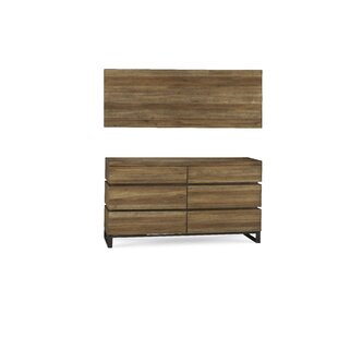 Barbieri 6 Drawer Double Dresser by Brayden Studio Coupon