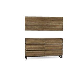 Barbieri 6 Drawer Double Dresser by Brayden Studio Wonderful