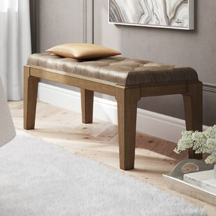Alcalde Upholstered Bench