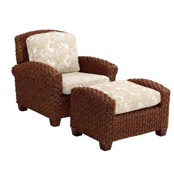 Home Styles Cabana Banana II Chair With Ottoman U0026 Reviews | Wayfair
