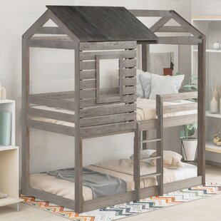 Beoll Twin over Twin Bunk Bed