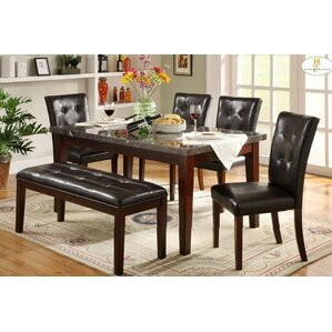 Blackwater 6 Piece Dining Set by Red Barrel Studio