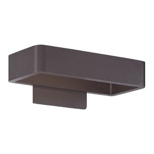 Rotella 1-Light LED Outdoor Wall Sconce By Brayden Studio Outdoor Lighting
