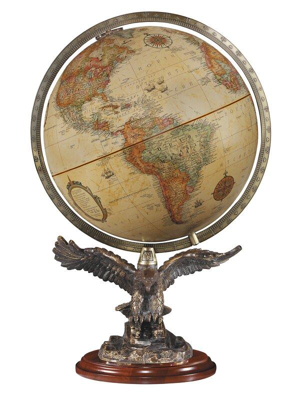 Freedom Antique World Globe