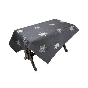 Snowflake Embroidered Christmas Tablecloth