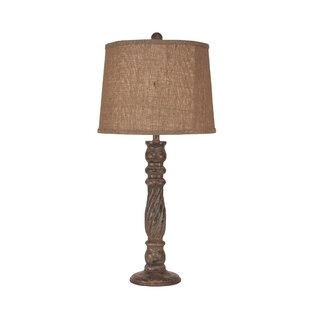 Ivy Hill Swirl Candlestick 32 Table Lamp