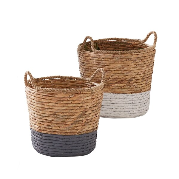 Storage Boxes Baskets Wicker Baskets Wayfair Co Uk