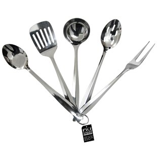 5 Piece Stainless Steel Kitchen Tool Set