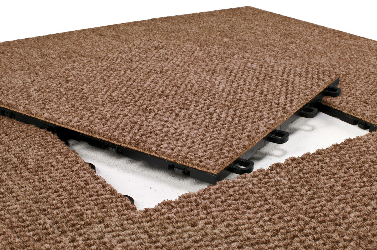 Blocktile 12 x 12 premium interlocking basement floor carpet 12 x 12 premium interlocking basement floor carpet tile dailygadgetfo Choice Image