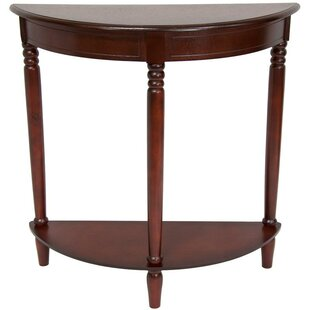 Perales Half Round Console Table by Three Posts