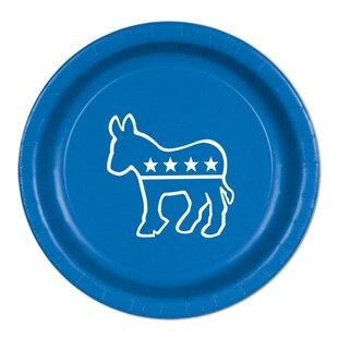 Democratic Paper Plate