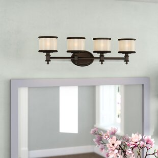 Check Prices Midvale 4-Light Vanity Light By Andover Mills