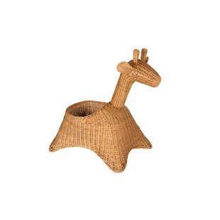 Giraffe Wicker Basket