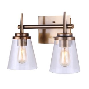 Best Deals Kesler 2-Light Vanity Light By Mercer41