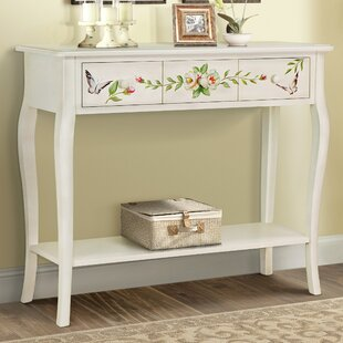 Sanger Hand-Painted Console Table by August Grove