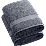2 Piece Turkish Cotton Bath Towel Set (Set of 2)