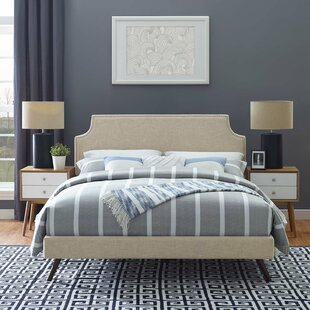 Dixie Upholstered Platform Bed