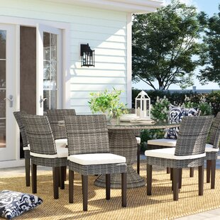 Rockport 9 Piece Dining Set with Cushions