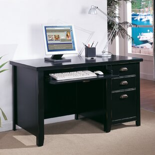Tribeca Loft Single Pedestal Computer Desk