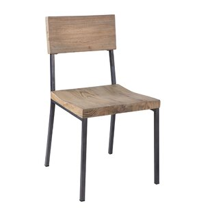 Macpherson Solid Wood Dining Chair (Set Of 2)