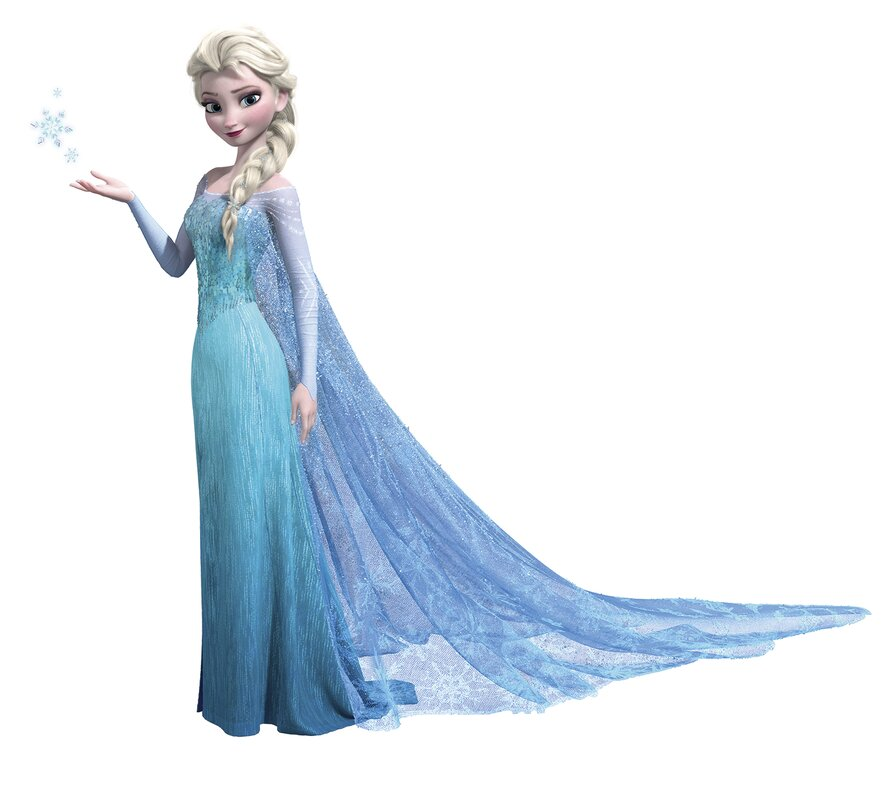 Room Mates 44 Piece Disney Frozen Elsa Giant Wall Decal