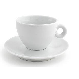 6 oz. Milano Cup \u0026 Saucer (Set of 6)  sc 1 st  Wayfair & Front Of The House | Wayfair