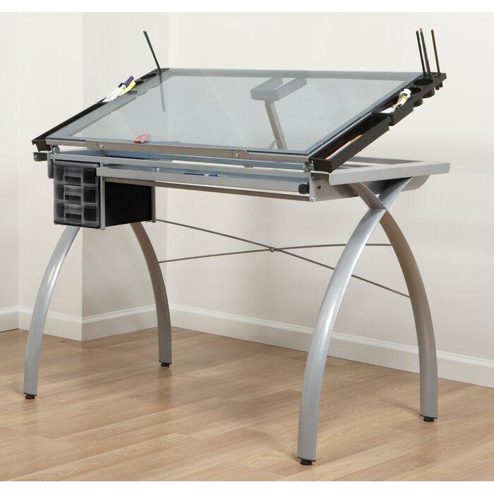 studio designs futura drafting table & reviews | wayfair.ca