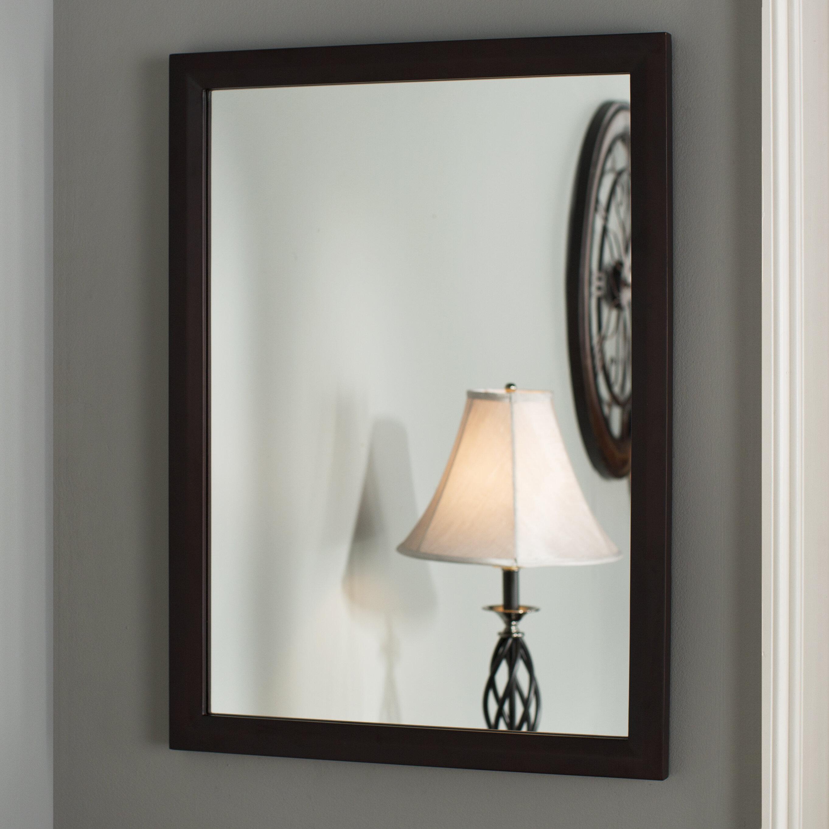Moderne Coiffeuse miroir cadre carré Make Up Vanity autoportante ...