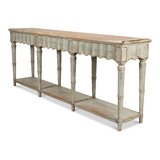 Chantal 93 Solid Wood Console Table by Sarreid Ltd