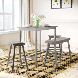 Cormac 4 Piece Pub Table Set Mistana