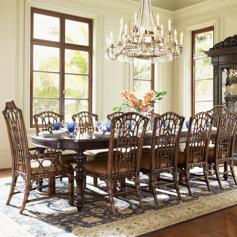 Awesome Royal Kahala Islands Edge 11 Piece Dining Set Gallery