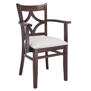 Fralick Solid Wood Upholstered Dining Chair Bloomsbury Market