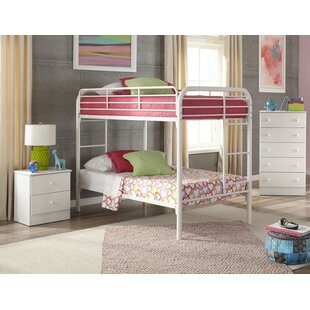 Walter Twin over Twin Standard Bunk 3 Piece Bedroom Set by Harriet Bee