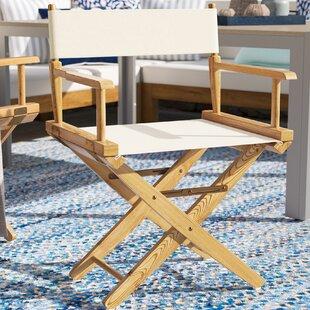 Pierpoint Folding Director Chair