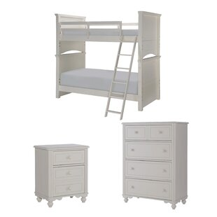 Price Check Summerset Twin Over Full Storage Bunk Bed Customizable Bedroom Set By LC Kids