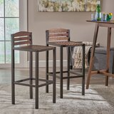 Buterbaugh 30 Bar Stool (Set of 2) by Foundry Select