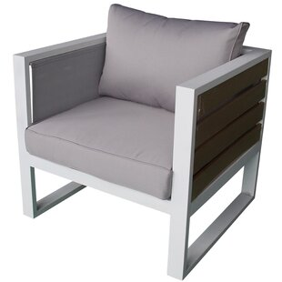 Twining Outdoor Lounge Chair With Cushion by Brayden Studio Looking for