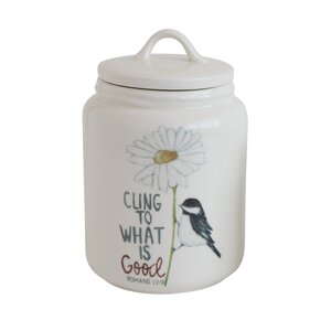 Cottage Stoneware Kitchen Canister