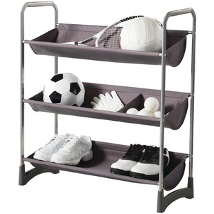 Garage Sport Stackable Purpose Storage Freestanding Sports Rack