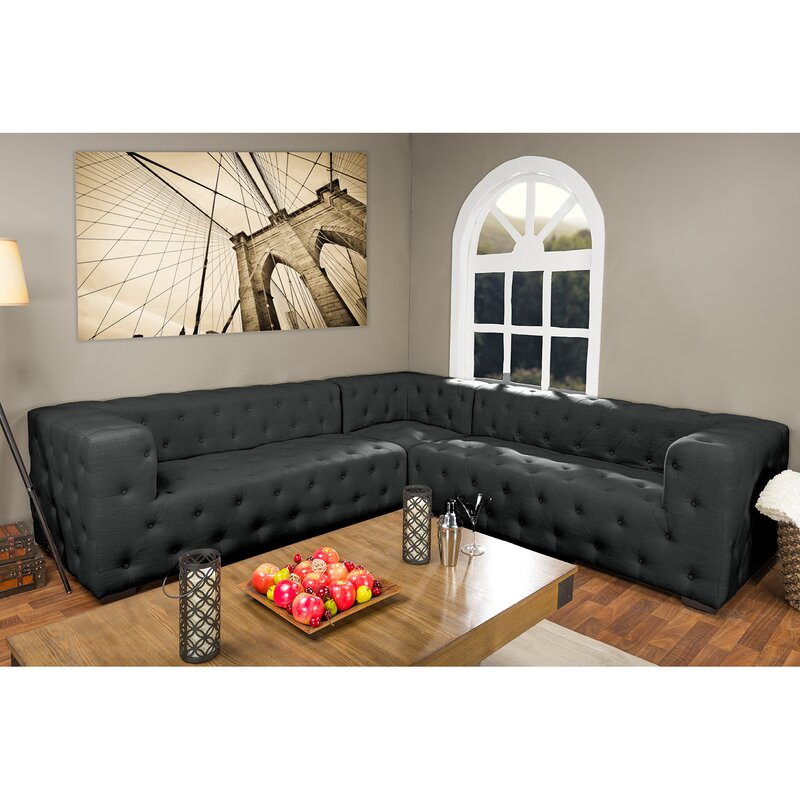 sectional sofas for studios wholesale interiors baxton studio sectional reviews wayfair