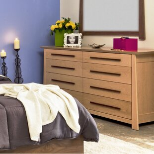 Hamilton 8 Drawer Double Dresser by Urbangreen Furniture Modern