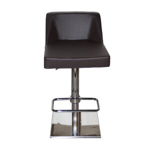 Oss Adjustable Height Swivel Bar Stool La Viola Décor