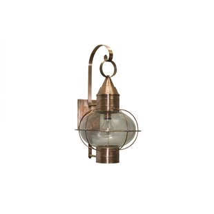 Buy luxury 600 Series 1-Light Outdoor Wall Lantern By Brass Traditions