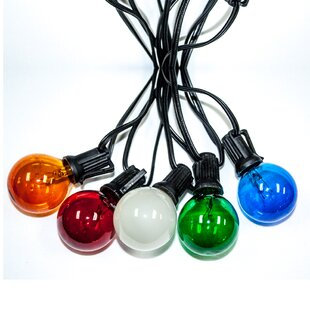 Global 25 ft. 25-Light Globe String Light