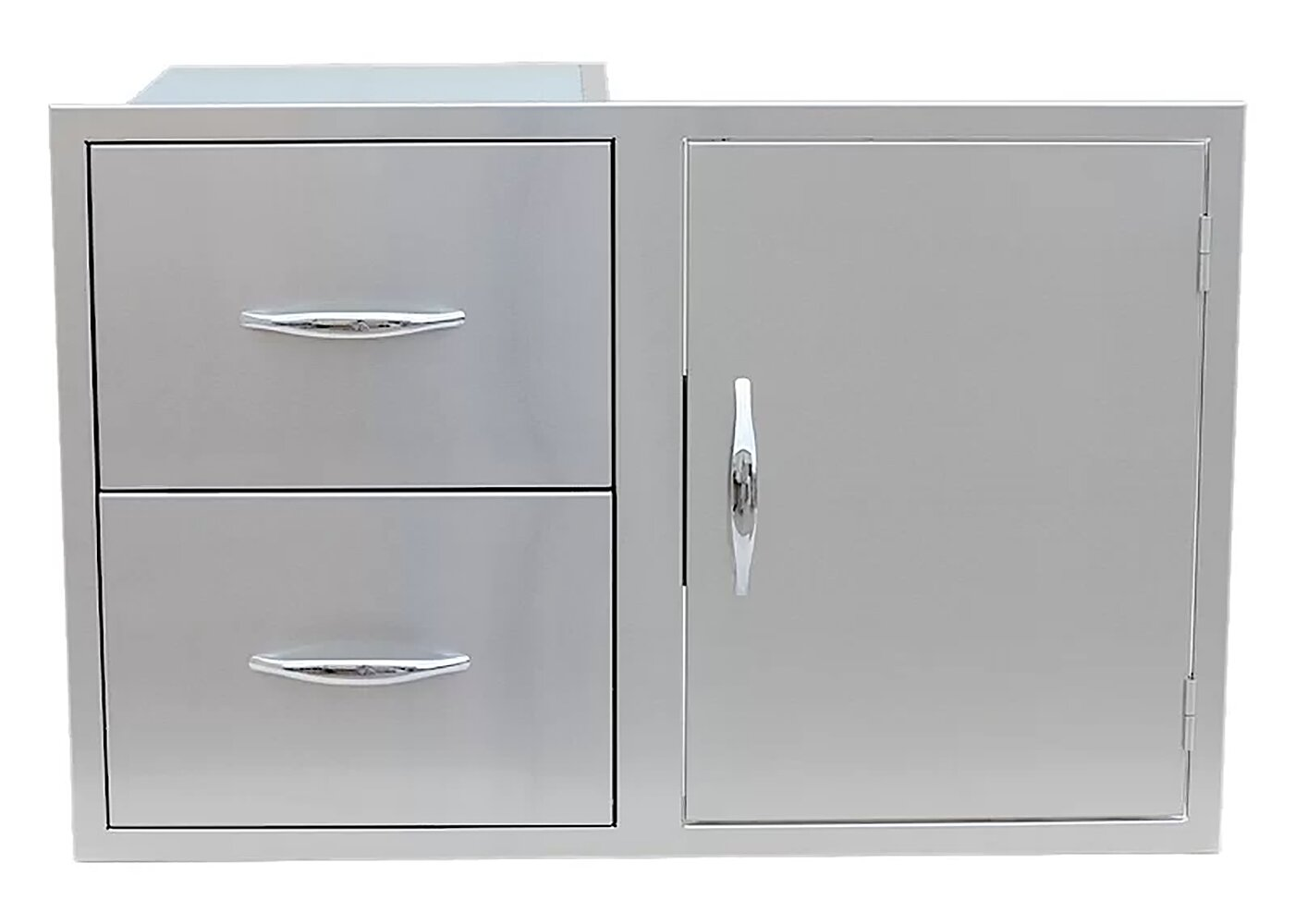 Outdoor Kitchen Drop-In Drawer/Access Door Combo