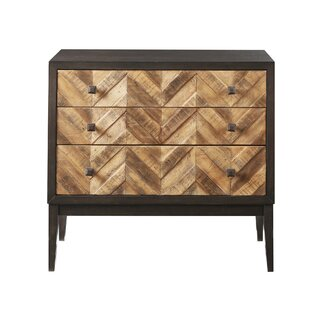 Great choice Delcastillo 3 Drawers Accent Chests ByWrought Studio