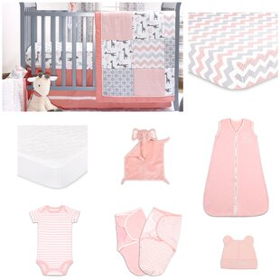 Inexpensive Uptown Girl 11 Piece Crib Bedding Set By The Peanut Shell
