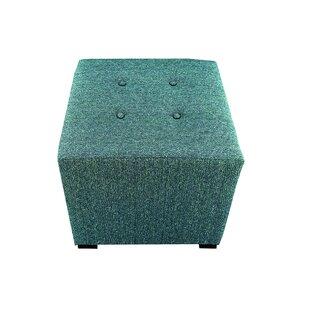Hadlee Tufted Cube Ottoman