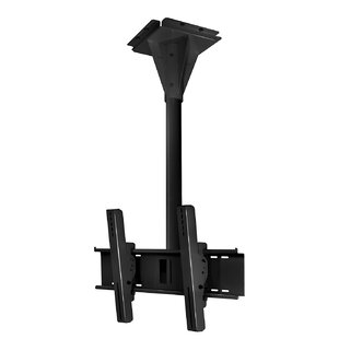 Wind Rated I-beam Tilt/Swivel Universal Ceiling Mount for 32 inch  - 65 inch  Flat Panel Screens